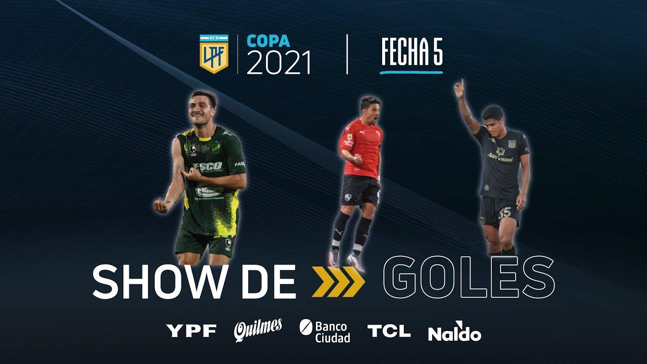 Copa de la Liga | Show de goles de la fecha 5