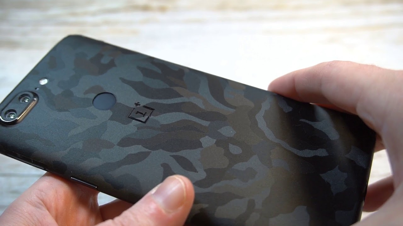 new product e9111 c15ee dbrand Black Camo Skin For OnePlus 5T Review