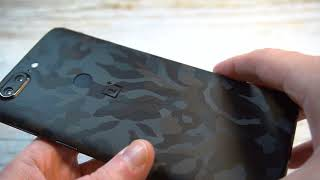 dbrand Black Camo Skin For OnePlus 5T Review