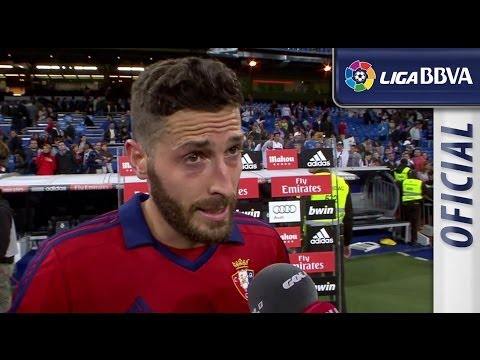 Interview Damià after Real Madrid (4-0) Osasuna - HD