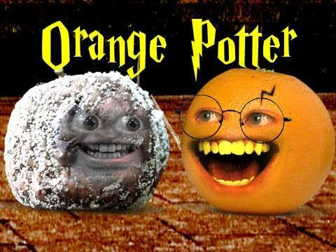 Annoying Orange : Orange Potter and the Deathly Apple