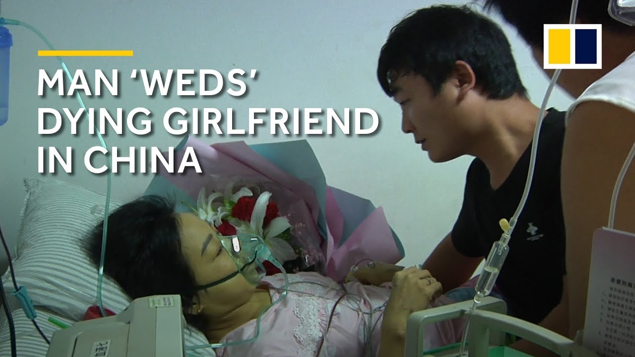 Man 'weds' dying girlfriend in China