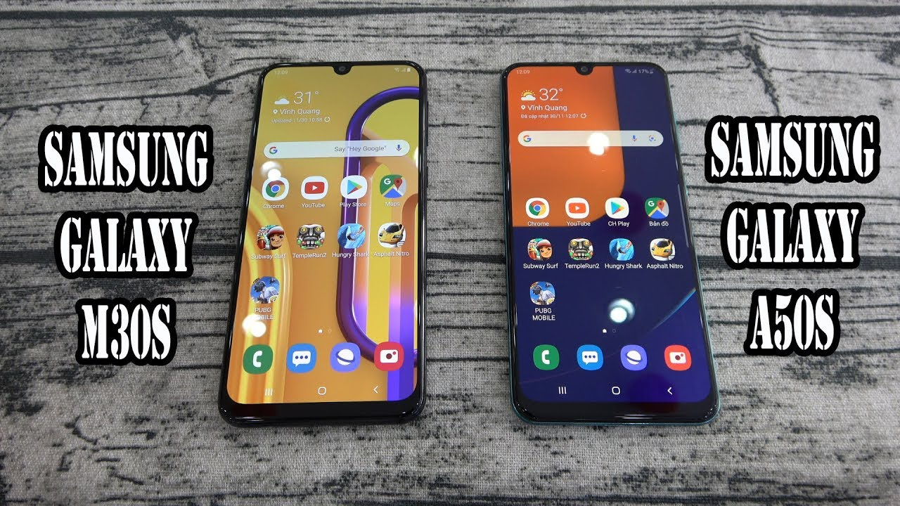 Samsung Galaxy M30s vs Samsung Galaxy A50s | SpeedTest and Camera comparison