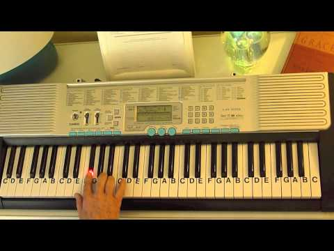 How to Play ~ Going Home - by Mary Fahl ~ (from Movie - Gods And Generals) ~ LetterNotePlayer ©