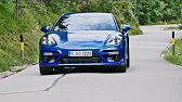 0 300 km h New Porsche Panamera Turbo 2017 Acceleration Top Speed
