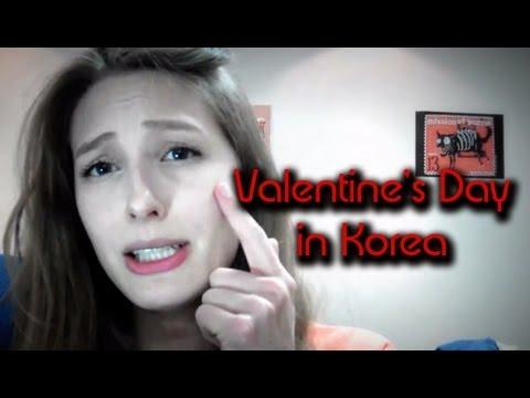Valentine's Day in Korea - YouTube