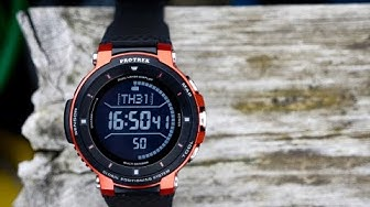 die beste Outdoor-Smartwatch? Die Casio ProTrek WSD F30 im Test [Review]