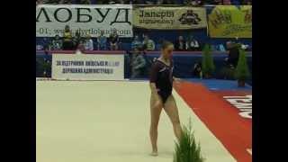 CUP Stella Zakharova-2013 Алия Мустафина (RUS), вольные упражнения