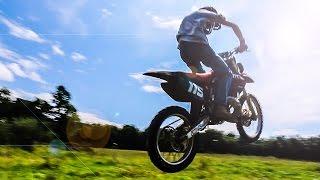 Epic Dirt Bike Chase - Farmer and Trespasser