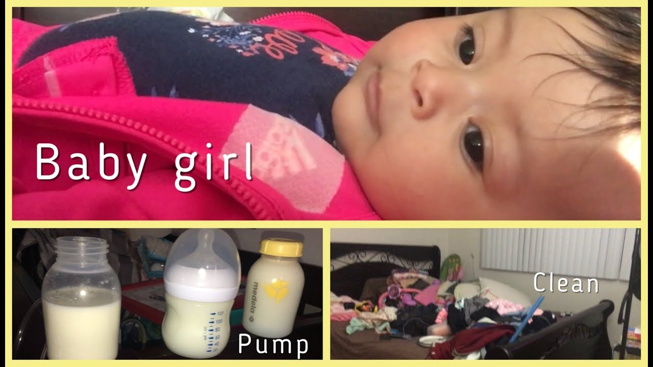 DAY IN A LIFE OF AN EXCLUSIVELY PUMPING MOM - YouTube