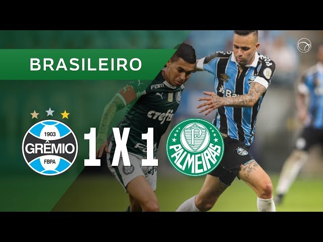 GRÊMIO 1 X 1 PALMEIRAS - GOLS - 17/08 - CAMPEONATO BRASILEIRO 2019