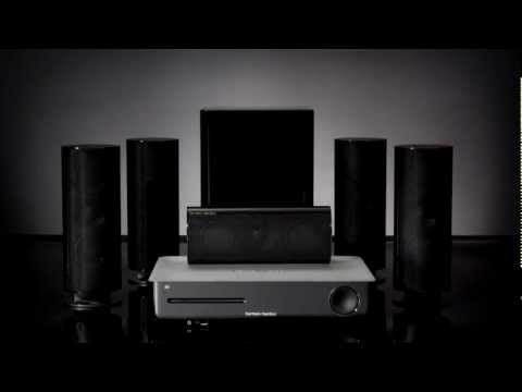 Harman Kardon BDS 277  BDS 577 - Blu-ray Disc Home Theater Systems