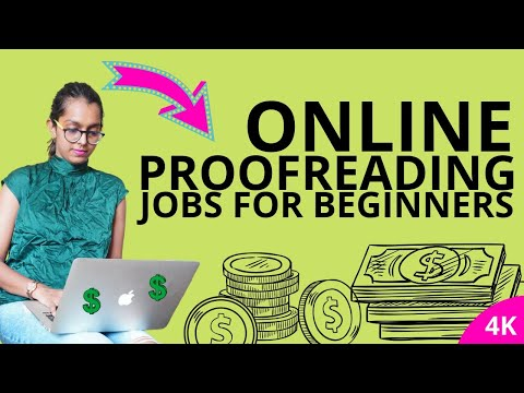 ONLINE PROOFREADING JOBS FOR BEGINNERS | EARN $25 - 50 PER HOUR FROM HOME