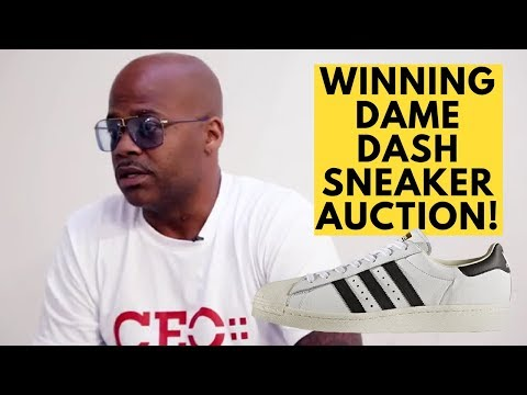 I Won A Pair Of Dame Dash's Adidas Superstars From Dame Dash Sneaker Collection Via Shoezeum!