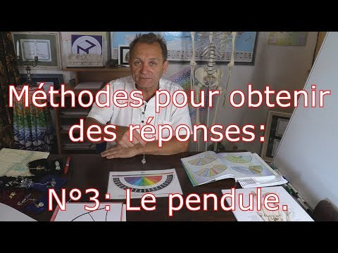 Méthodes Pour Obtenir Des Réponses N°3 : Le Pendule.