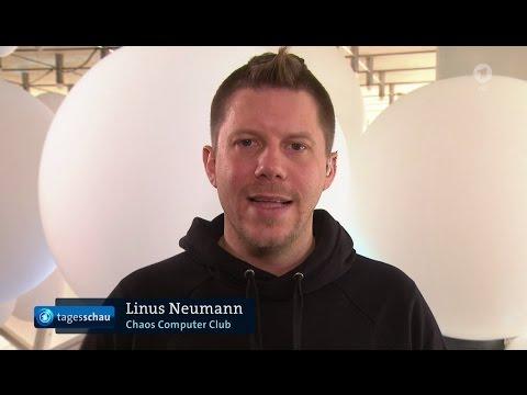 ARD Tagesschau - Interview mit Linus Neumann CCC zur Verbreitung von FakeNews - 27.12.2016