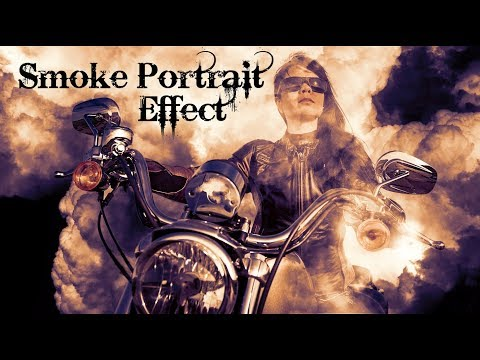 Photoshop: How to make an Image Appear from Thick, Billowy Smoke thumbnail