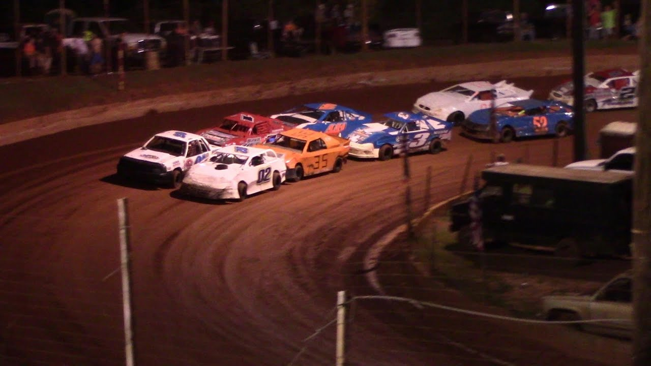 Winder Barrow Speedway Stock 4 Cylinders A's Feature Race 9/7/19
