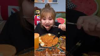 Spicy Noodles Eating Show | Mey Asmr