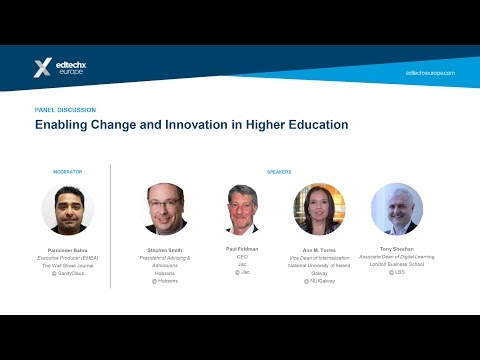 Enabling Change and Innovation in Higher Education