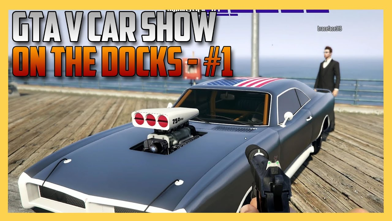 Gta 5 Car Show On The Docks 1 Swiftor