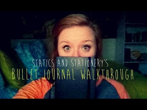 Bullet Journal Walkthrough