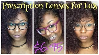 Affordable Fashionable Glasses...FOR $6.95!!!!!! Mp3