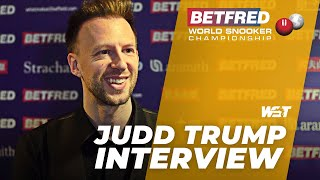 Judd TRUMP Through With 10-4 Win Over Liam Highfield   2021 Betfred World Championship