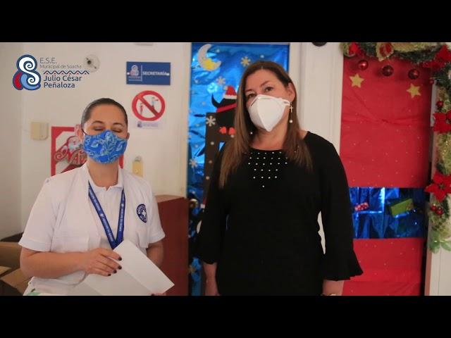 DONACION MEDICOS POR EL MUNDO  A LA ESE MUNICIPAL DE SOACHA JULIO CÉSAR PEÑALOZA