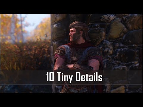 Skyrim: Yet Another 10 Tiny Details That You May Have Missed in The Elder Scrolls 5 (Part 6)
