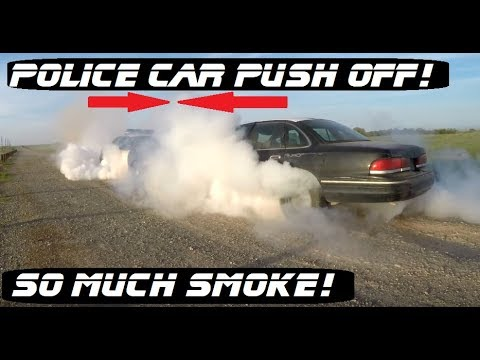 Epic Cop Car PUSH OFF! | Ford Crown Victoria Police Interceptor P71 Crown  Rick Auto