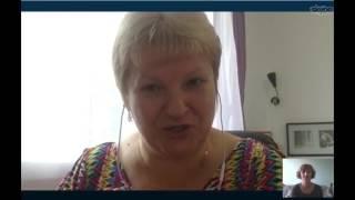 Мое первое интервью с Галиной Редькиной.