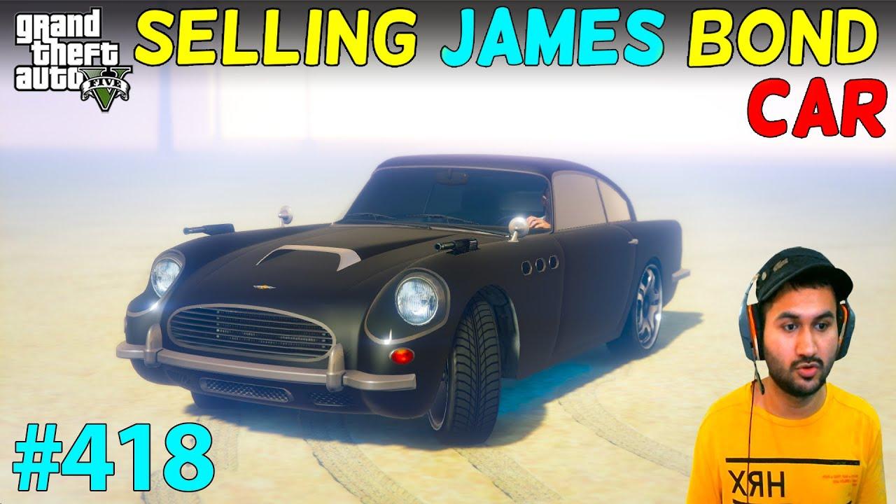 GTA 5 : SELLING JAMES BOND CAR OF TREVOR SAD MOMENT 😭 | GTA V GAMEPLAY #418