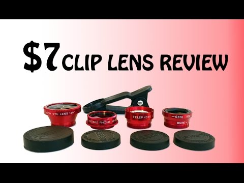 5 In 1 Smartphone Clip Lens Review With Samples Pics!!