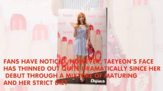 This Is What Changed The Most About Taeyeon After Her Diet - Stafaband