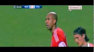 Benfica Vs Paris SG 2-1 All Goals & Highlights 10/12/2013