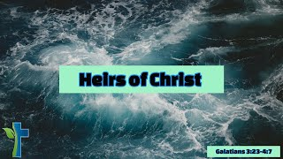 Heirs of Christ