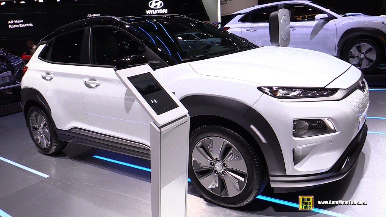 2019 Hyundai Kona Elecric Exterior And Interior Walkaround Debut