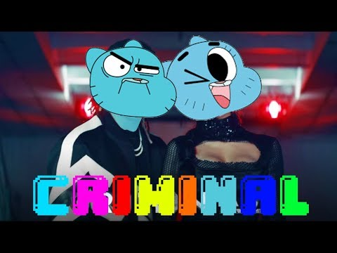 Gumball sing Criminal by Natti Natasha Ft. Ozuna [Cartoon Cover]