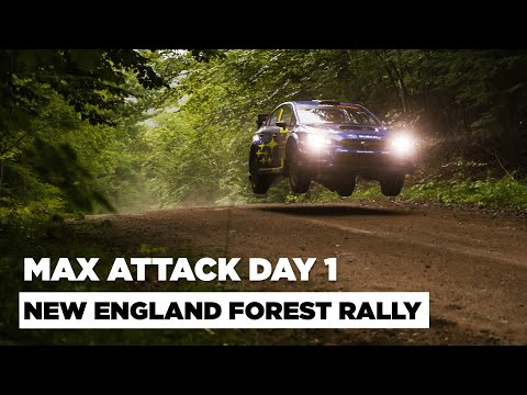 New England Forest Rally 2021 - Challenging Day 1 Ahead