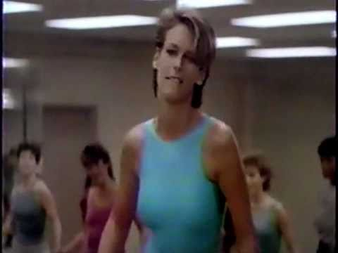 john travolta amp jamie lee curtis in perfect 1985 tv