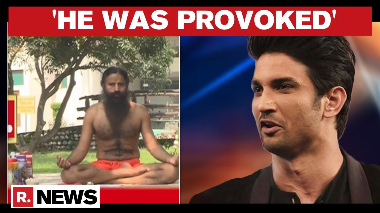Download Baba Ramdev Invalidates Sushant 'Suicide'; Urges Bollywood Veterans To Clean Drug Mess
