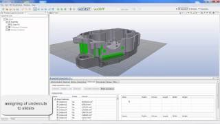 Teraport veoCAST - Undercuts and Projection -
