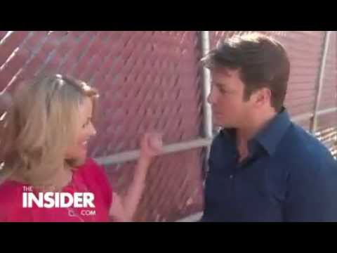 The Insider-the relationship between Stana Katic and Nathan Fillion