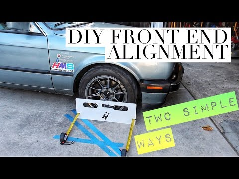 DIY ALIGNMENT IN YOUR GARAGE