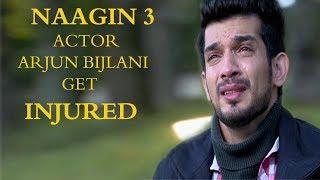 naagin 3 actor arjun bijlani get injured naagin season 3