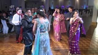 Parents Wedding Dance at Indian Wedding Reception Toronto Indian Wedding Videographer Photographer