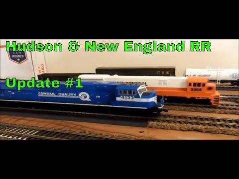 HO Scale Hudson & New England Railroad Update #1