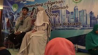 Bikin Baper!!!!  Ustd.muzamil Hasbalah Bersama Istrinya Sonia Ristiani