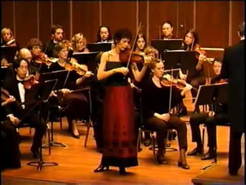Cecylia Arzewski Plays Beethoven Violin Concerto